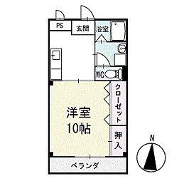 アイランドM 3階[303号室]の間取り