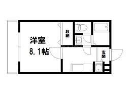 (仮称)上京区北玄蕃町共同住宅[3階]の間取り