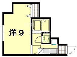 松三荘[103号室号室]の間取り