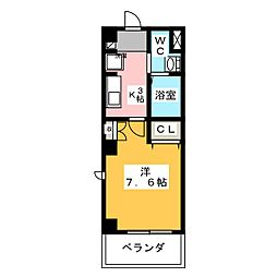 ソレイルコート桜本町[3階]の間取り