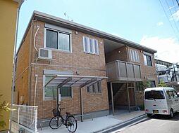 大阪府茨木市見付山1丁目の賃貸アパートの外観