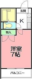 東田原・わかばIV[2階]の間取り