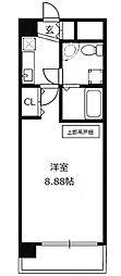 CASSIA十三[4階]の間取り