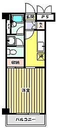 MHビルII[2階]の間取り