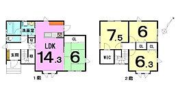 青森市大野山下 4LDK 新築住宅です