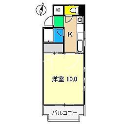 アーバンボックス[2階]の間取り
