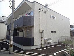 大阪府羽曳野市恵我之荘3丁目の賃貸アパートの外観