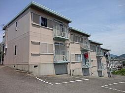 奈良県北葛城郡河合町大字大輪田の賃貸アパートの外観