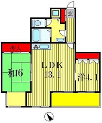 INSURANCE BLDG 14[4階]の間取り