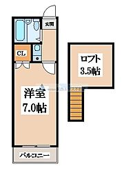 MONAハウス[1階]の間取り