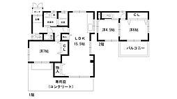 [一戸建] 兵庫県西宮市上之町 の賃貸【/】の間取り