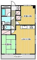 クエスタ・デル・ラモス2[5階]の間取り