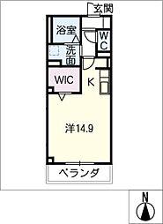 仮)D−room刈谷市一ツ木町[2階]の間取り