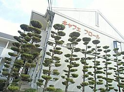 岡山県倉敷市下庄丁目なしの賃貸アパートの外観