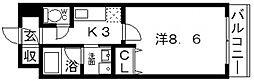 CHERUB(チェルブ)[405号室号室]の間取り