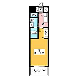 ArtizA上前津II[9階]の間取り