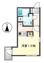 ブランシェ桜山(Branche桜山)[5階]の間取り