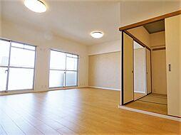 広々18帖リビング  8階からの絶景を是非 宝・黄金ハイツ
