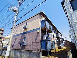 埼玉県所沢市東所沢1丁目の賃貸アパートの外観