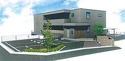大阪府高槻市古曽部町1丁目の賃貸マンションの外観