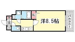 エスティロアール神戸駅前[903号室]の間取り