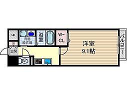 エスポアールI[1階]の間取り