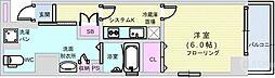 Osaka Metro長堀鶴見緑地線 長堀橋駅 徒歩4分の賃貸マンション 8階1Kの間取り