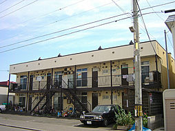 北海道札幌市東区北二十七条東9丁目の賃貸アパートの外観