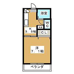 FAMILLE SAULE[1階]の間取り
