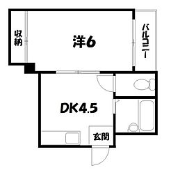 サンシャイン京都[3階]の間取り
