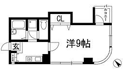 デセンテコート[5階]の間取り