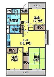 新京阪ビル[6階]の間取り
