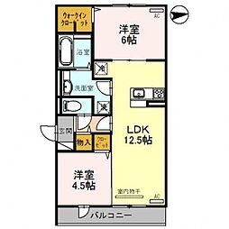 レオンガーデン 〜leon Garden〜[3O3号室号室]の間取り