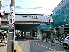 京王電鉄八幡山駅