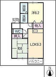 セジュールT.Y[2階]の間取り