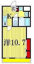 メゾンルローヌ[1階]の間取り