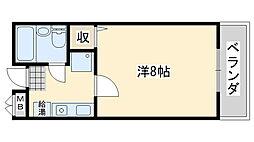 Rinon脇浜[603号室]の間取り