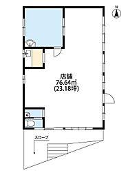 西武池袋線 西所沢駅 徒歩17分の賃貸店舗(建物一部)