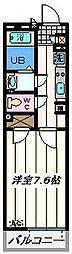 埼玉県越谷市レイクタウン2丁目の賃貸マンションの間取り