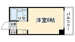 大阪府大阪市生野区新今里7丁目の賃貸マンションの間取り
