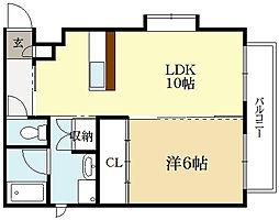 sawarabi kitayama[3階]の間取り