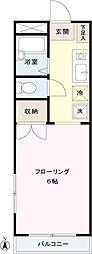 レジデンス初台[1階]の間取り