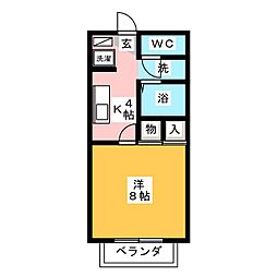 クレール21[2階]の間取り