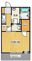 宮原3丁目シャーメゾンA[105号室]の間取り