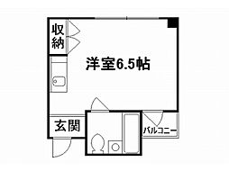 ハイツBARUKO[3階]の間取り