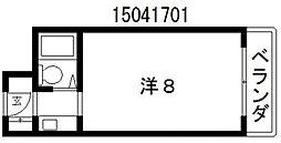 万代東シティコーポ[2階]の間取り