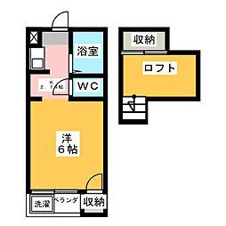 第2青島ハイツ[2階]の間取り