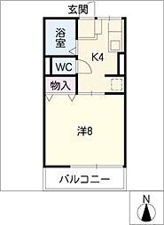 エステート[1階]の間取り