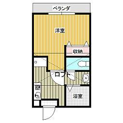 グリーンコーポIII[2階]の間取り