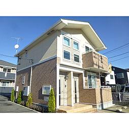 神奈川県小田原市上新田の賃貸アパートの外観